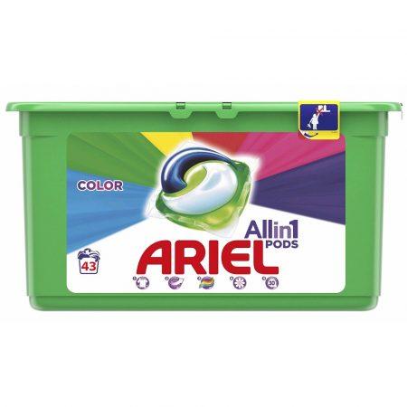 Ariel All-In-1 Pods Color 43 Wasbeurten