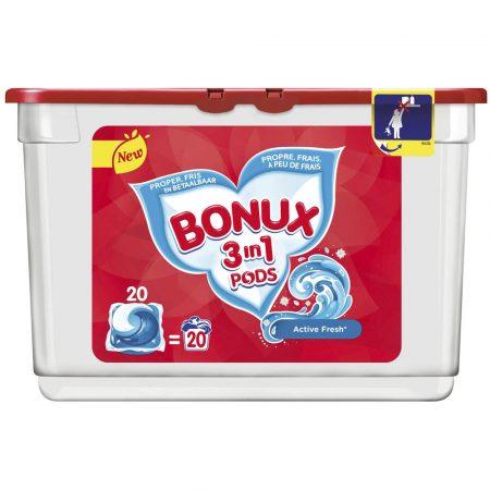 Bonux 3In1 Pods Ice Fresh 20 Wasbeurten