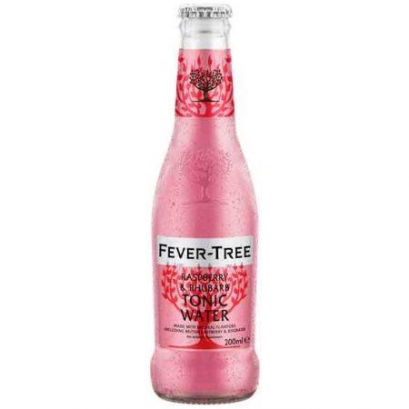 fever-tree raspberry & rhubarb tonic water 200ml