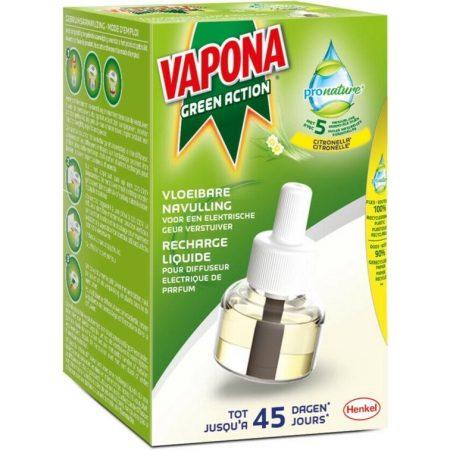 Vapona green action Anti mug navulling 45 dagen