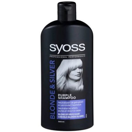 Syoss Shampoo Blonde & Silver 500ml