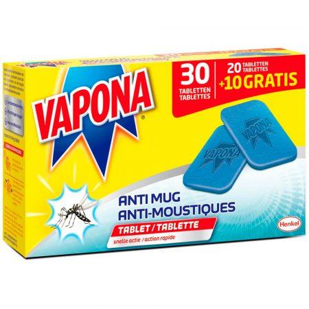 Vapona Anti mug navulling 30 tabletten