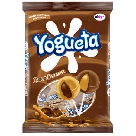 Aldor Lolly Yogueta Choco Caramel 24st 384 gr