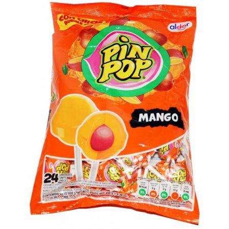 Aldor Lolly Pin Pop Mango 24 St 408gr