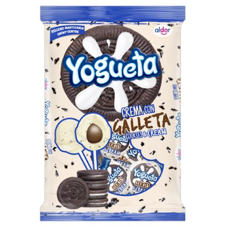 Aldor Lolly Yogueta Cookies & Cream 24 st 384 gr
