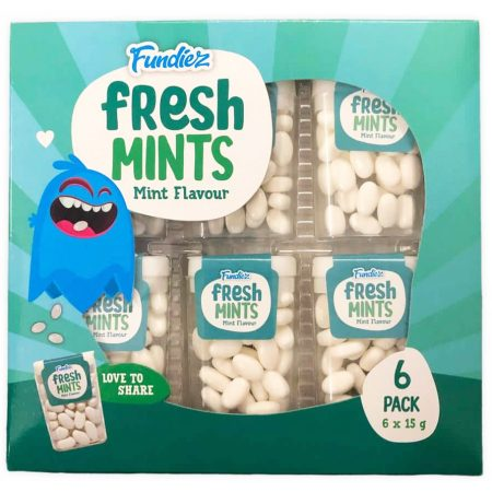 Fundiez Fresh Mints 6 x 15g Mint Flavour