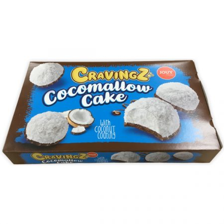 Cravingz Cocomallow Cake With Coconut Coating 150gr