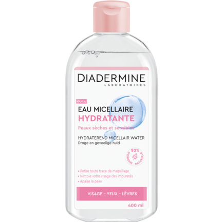 diadermine hydraterend micellair water 400ml