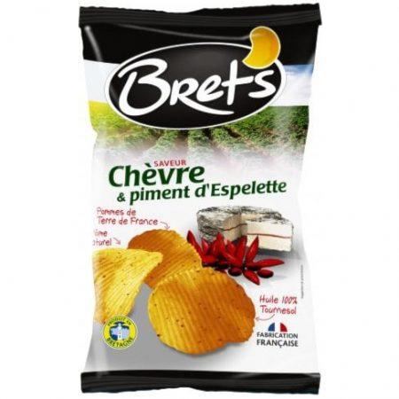 Brets chips 125gr Geitenkaas & espelettepeper