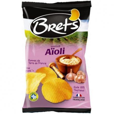 Brets chips 125gr Aioli
