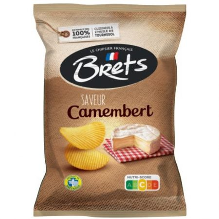 Brets chips 125gr Camenbert