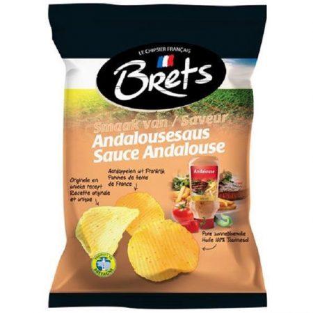 Brets Chips 125gr Andalouse