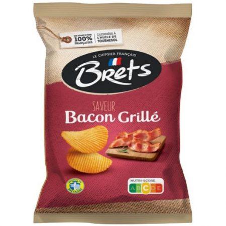 Brets chips 125gr Gegrilde Bacon