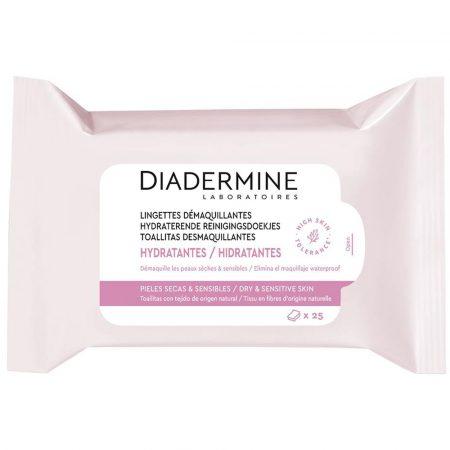 diadermine hydraterende reinigingsdoekjes 25st