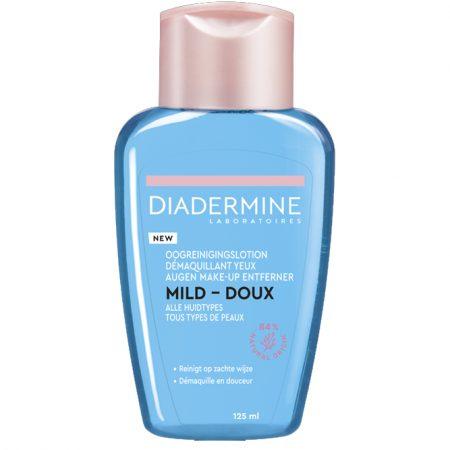 diadermine oogreinigingslotion mild 125ml