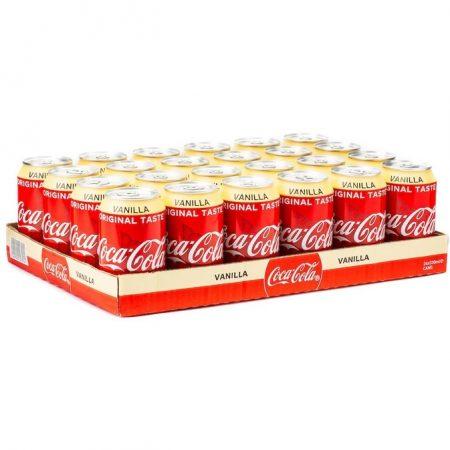 Cola Vanilla DK 24x33cl