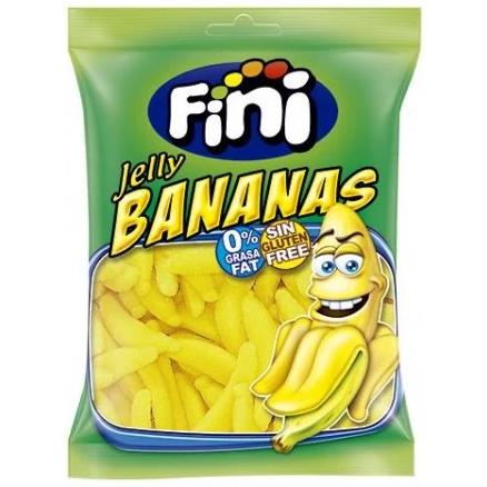 Fini Jelly Bananas Glutenvrij 100g