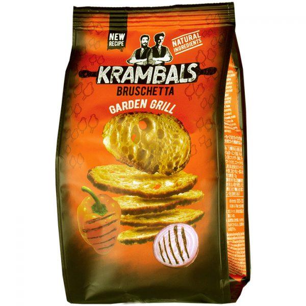 Krambals Bruchetta 70g Garden Grill