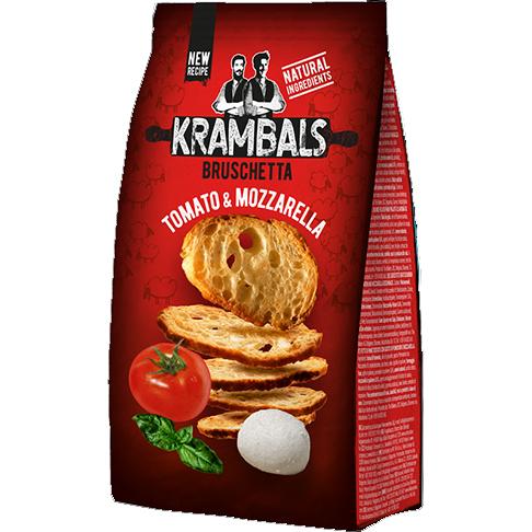 Krambals Bruchetta 70g Tomaat & Mozarella
